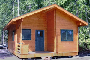 Feature Cabin made by Bavarian Cottges